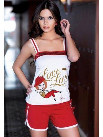 Berrak Bayan Love Love Şortlu Takım 2428