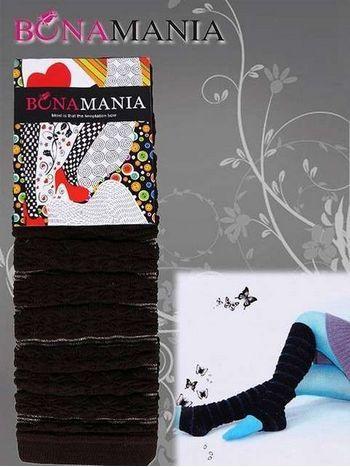 Bona Mania Burunsuz Dizaltı Çorap B81104
