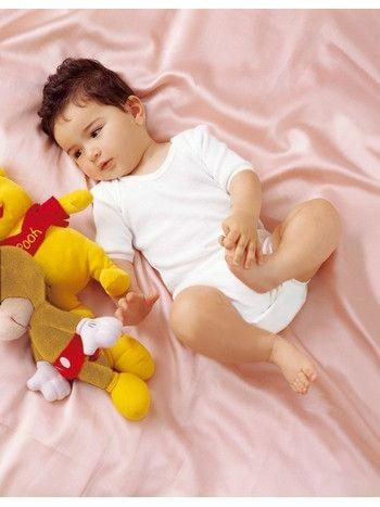 Çift Kaplan Çıtçıtlı Bebe Body 475
