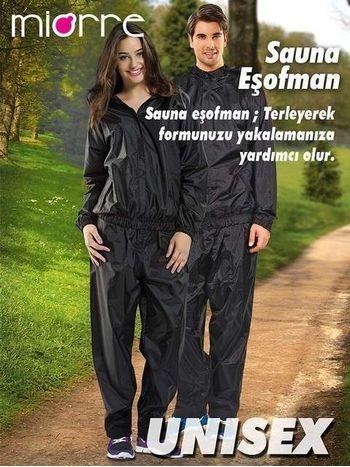 Miorre Unisex Sauna Eşofman - Zayıflamaya Yardımcı 78002
