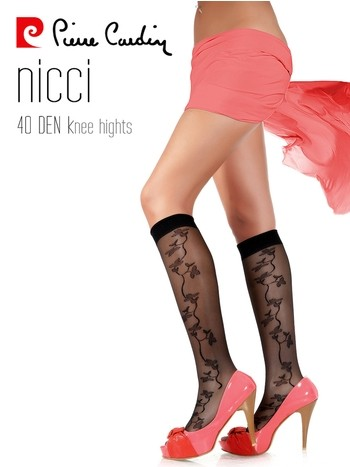 Pierre Cardin Desenli Dizaltı Çorap Nicci