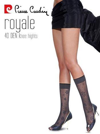Pierre Cardin Desenli Dizaltı Çorap Royale
