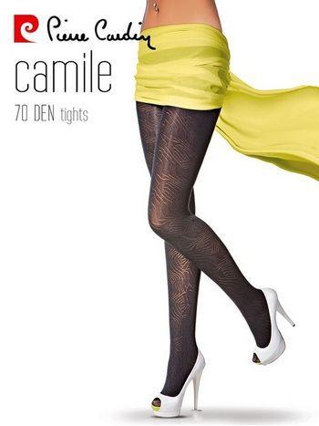 Pierre Cardin Desenli Külotlu Çorap Camile