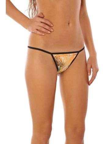 Redhotbest İndian Printed Fantezi G-string