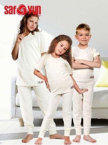 Safyün Çocuk Uzun Yün Don 700