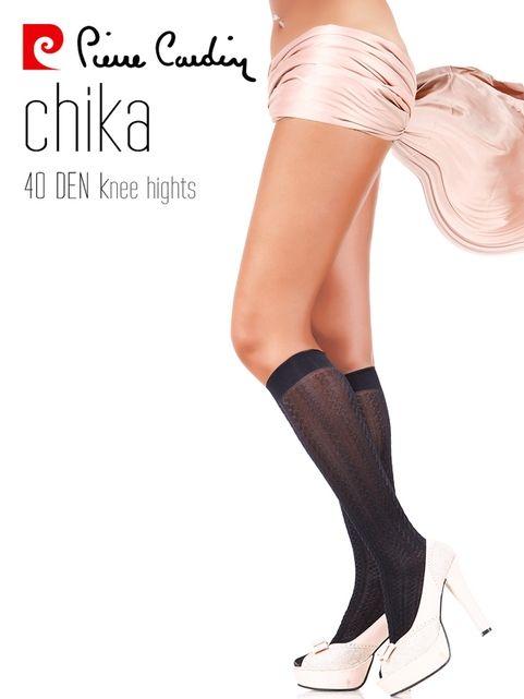 Pierre Cardin Desenli Dizaltı Çorap Chika