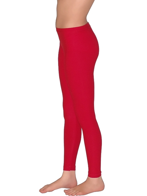 Redhotbest Uzun Mikro Fashion Tayt Kırmızı