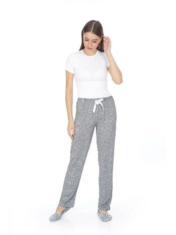 Akbeniz Bayan Tek Alt Pijama 27133
