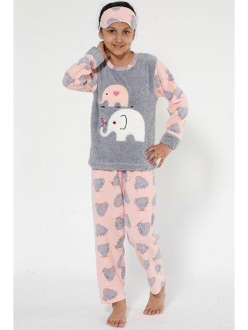 Akbeniz Well Soft Kız Çocuk Pijama Takımı 4527