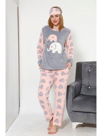 Akbeniz WellSoft Kadın Pijama Takımı 8030