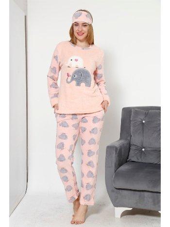Akbeniz WellSoft Kadın Pijama Takımı 8031