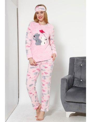 Akbeniz WellSoft Kadın Pijama Takımı 8033