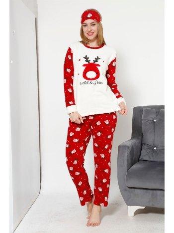 Akbeniz WellSoft Kadın Pijama Takımı 8034
