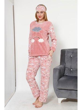 Akbeniz WellSoft Kadın Pijama Takımı 8036