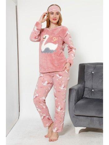 Akbeniz WellSoft Kadın Pijama Takımı 8039