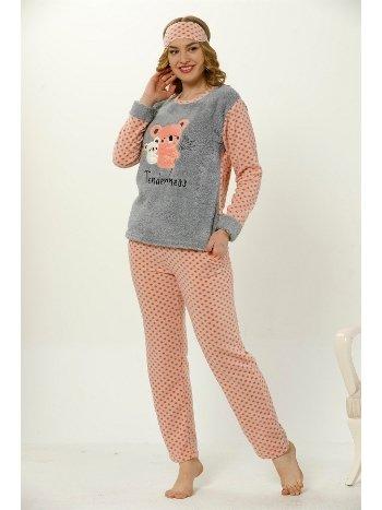 Akbeniz WellSoft Kadın Pijama Takımı 8043