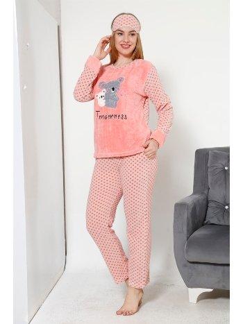 Akbeniz WellSoft Kadın Pijama Takımı 8044