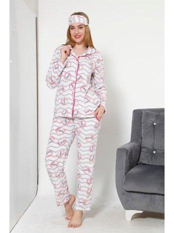 Akbeniz WellSoft Kadın Pijama Takımı 8046