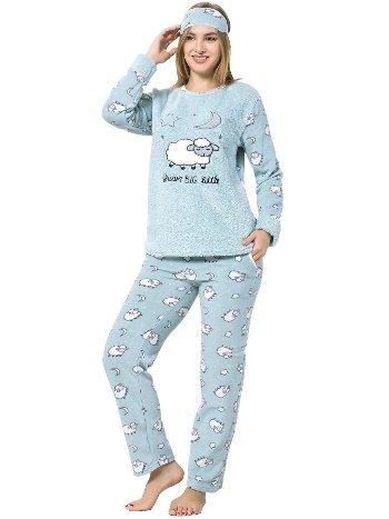 Akbeniz WellSoft Kadın Pijama Takımı 8050