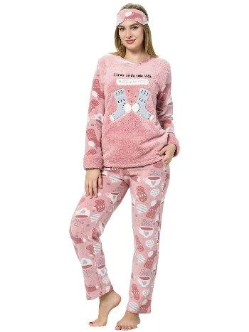 Akbeniz WellSoft Kadın Pijama Takımı 8052
