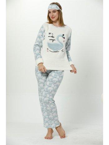 Akbeniz WellSoft Kadın Pijama Takımı 8057