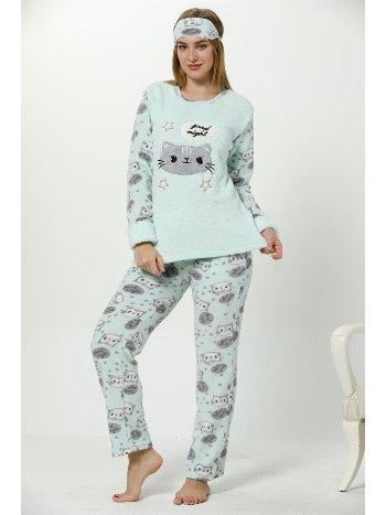 Akbeniz WellSoft Kadın Pijama Takımı 8059