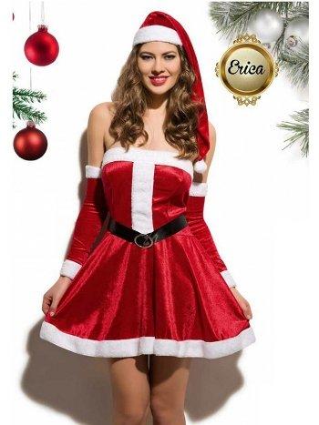 Asimod Seksi Noel Anne Kostümü ERICA