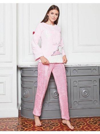 Bone Club 4619 Raşel Nakışlı Pijama Takımı