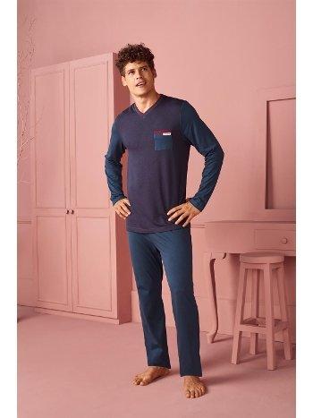 Doreanse Erkek T-Shirt Pijama Takımı 4540