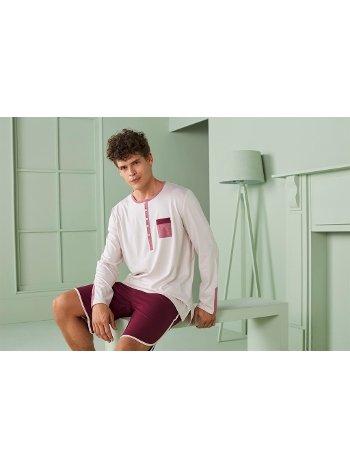 Doreanse Erkek T-Shirt Pijama Takımı 4590