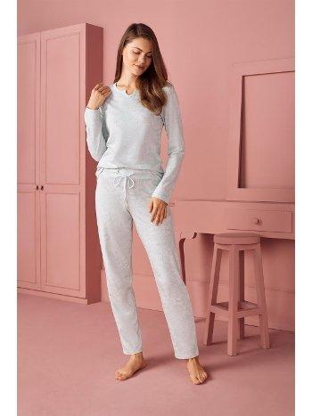 Doreanse Kadın T-Shirt Pijama Takımı 4240