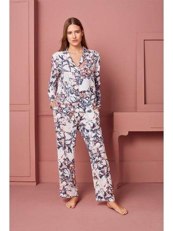 Doreanse Kadın T-Shirt Pijama Takımı 4290