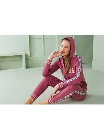Doreanse Kadın T-Shirt Pijama Takımı 4310