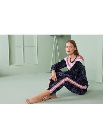 Doreanse Kadın T-Shirt Pijama Takımı 4330