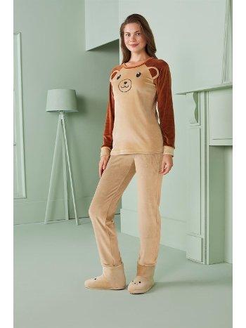 Doreanse Kadın T-Shirt Pijama Takımı 4340
