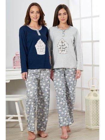 Estiva İnterlok Pijama Takımı 19310