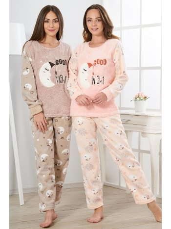 Estiva Kadın Welsoft Good Night Pijama Takımı 19344
