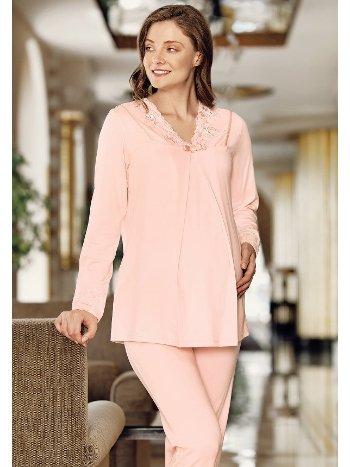 Fantasy 1003 Sabahlıklı Hamile Pijaması