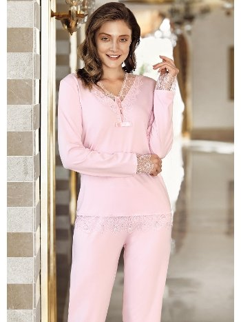 Fantasy 1006 Dantelli Pijama Takımı