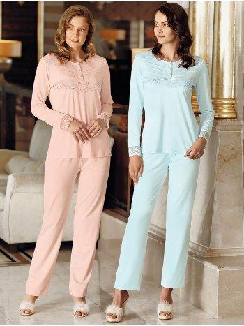 Fantasy 1009 Dantelli Pijama Takımı