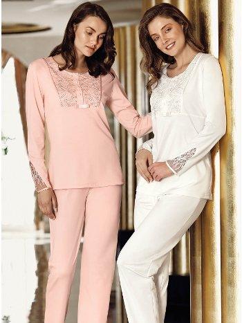 Fantasy 1014 Dantelli Pijama Takımı