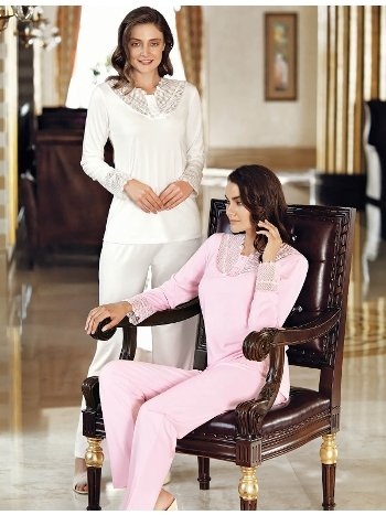 Fantasy 1015 Dantelli Pijama Takımı