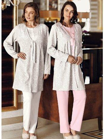 Fantasy 1019 Nesta Sabahlıklı Pijama Takımı