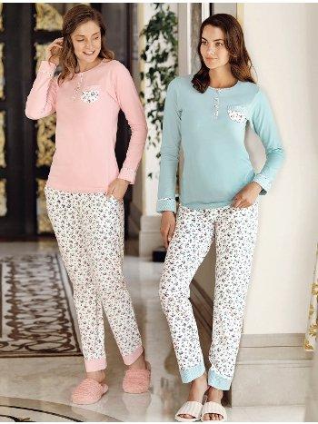 Fantasy 1033 Çıtır Çiçek Pijama Takımı