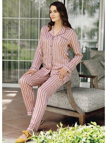 Fantasy 1043 Önden Düğmeli Pijama Takımı