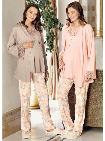 Fantasy 1060 Sabahlıklı Hamile Pijama Takımı