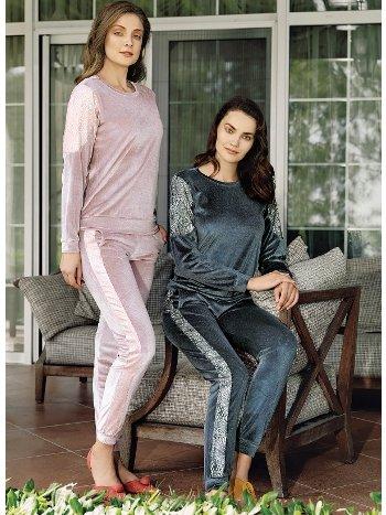 Fantasy 1078 Kadife Pijama Takımı