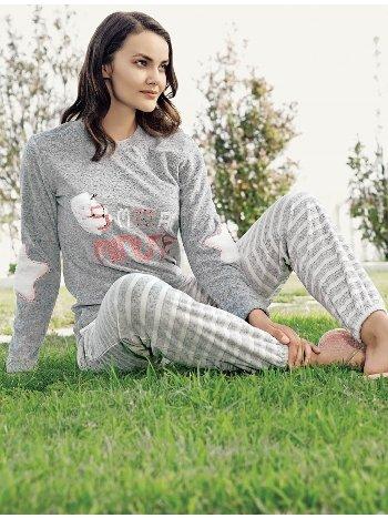 Fantasy 1091 5 Minute Baskılı Pijama Takımı
