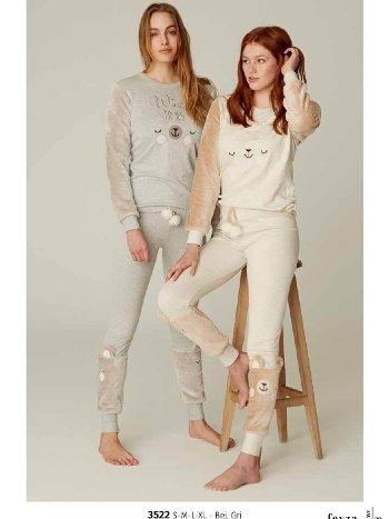 Feyza 3522 Pijama Takımı