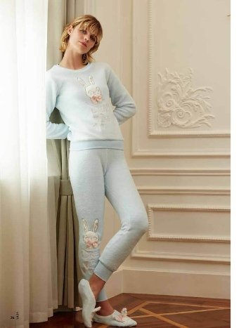 Feyza 3553 Polar Pijama Takımı